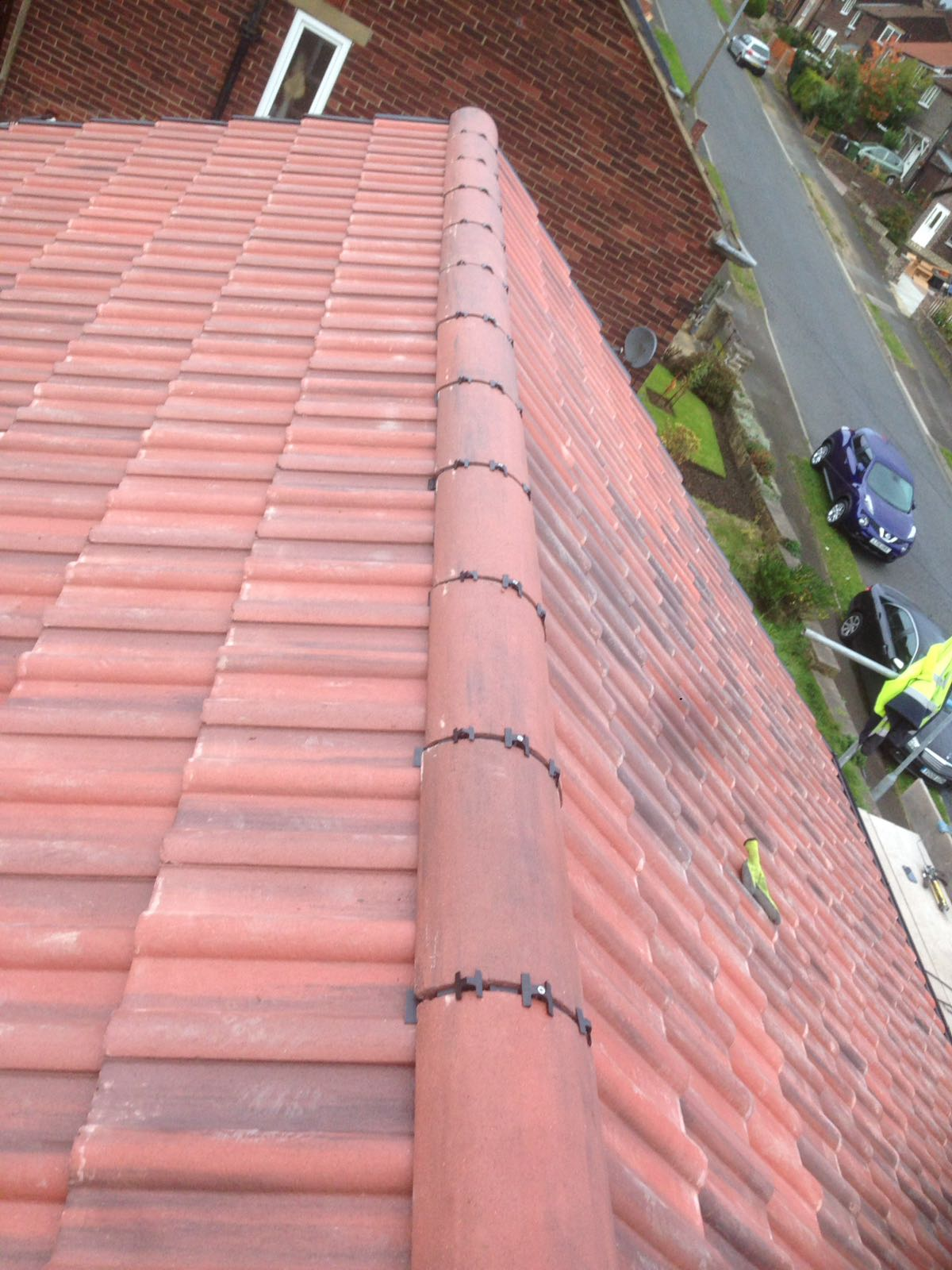 Brand New Concrete Tiled Roof East Coast Roofing