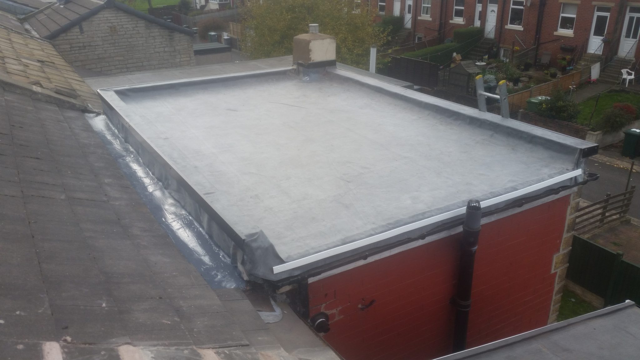 New Epdm Rubber Roof East Coast Roofing